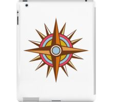 Vintage Compass Star Isolated Retro iPad Case/Skin