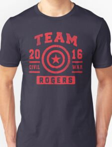 Civil War 2016 - Team Rogers T-Shirt