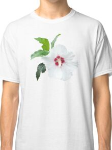 White flower blossom isolated Classic T-Shirt