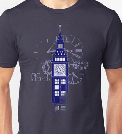 Big Ben Tardis Unisex T-Shirt