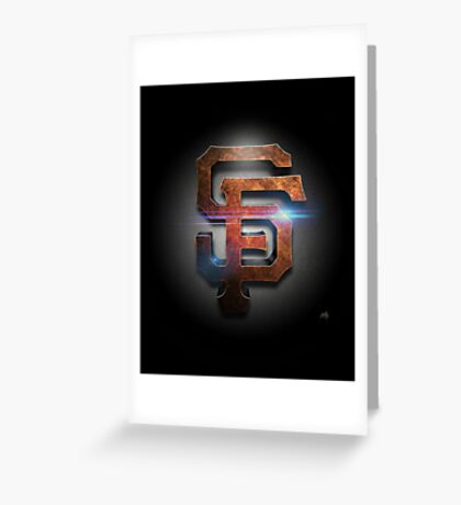 Giants MOS Greeting Card