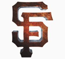 SF Giants MOS One Piece - Short Sleeve