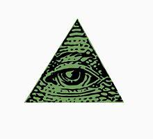 Illuminati green Women's Fitted Scoop T-Shirt