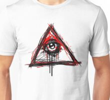 Illuminati bleeding Unisex T-Shirt