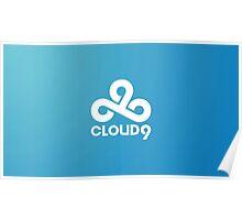 Cloud 9 E-Sports Team Poster
