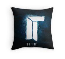 Titan E-Sports Team Throw Pillow