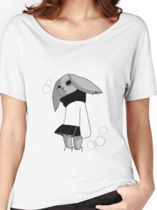 School bunny  Women's Relaxed Fit T-Shirt