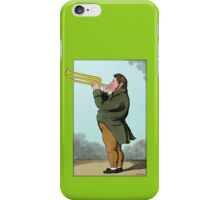 The Paradoxical Trumpeter iPhone Case/Skin