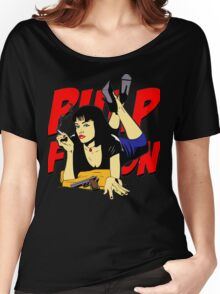 Pulp Fiction Mia Women's Relaxed Fit T-Shirt