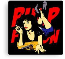 Pulp Fiction Mia Canvas Print