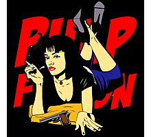 Pulp Fiction Mia Photographic Print