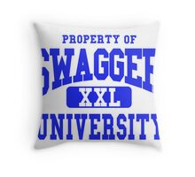 Swagger University Throw Pillow