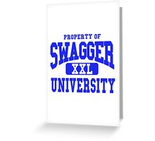 Swagger University Greeting Card