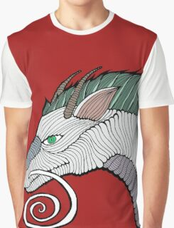 Haku Dragon Doodle Graphic T-Shirt