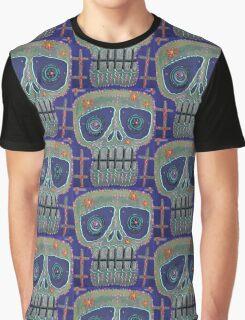 Candy Sugar Skull Graphic T-Shirt