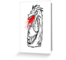 DragonBlood Greeting Card