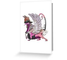 DRAG Brithany Greeting Card