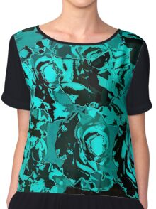 roses of the night Chiffon Top