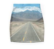 nr Chimbote Peru Road leading through the mountains to Huaraz. Mini Skirt