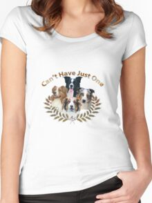 Australian Shepherd Can't Have Just One Women's Fitted Scoop T-Shirt