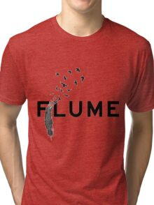 flume and plume birds Tri-blend T-Shirt