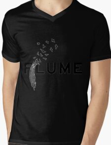 flume and plume birds Mens V-Neck T-Shirt