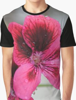 fuxia flower Graphic T-Shirt