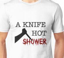 Psycho: A knife hot shower Unisex T-Shirt
