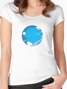 P3 Retro Women's Fitted Scoop T-Shirt
