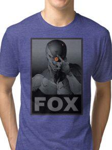 Gray Fox Tri-blend T-Shirt