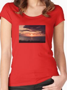 Moon Rising Queensland Women's Fitted Scoop T-Shirt