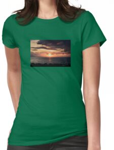 Moon Rising Queensland Womens Fitted T-Shirt