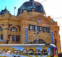 Melbourne Station by AnnDixon