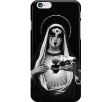 Black Metal Mary iPhone Case/Skin