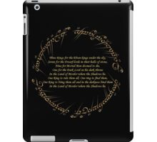 The Rings iPad Case/Skin