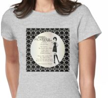 Flapper Girl 1920s Recipe Womens Fitted T-Shirt