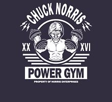 Chuck Norris Power Gym Unisex T-Shirt