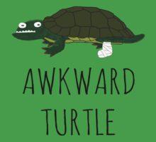 Awkward Turtle Baby Tee