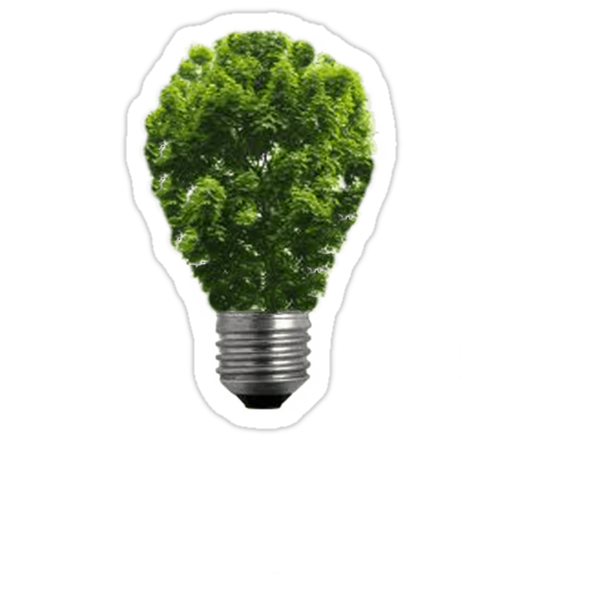 Green Lightbulb by Rob Price