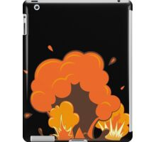 The explosion. Comics style iPad Case/Skin