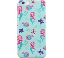 mermaids and the fishes iPhone Case/Skin