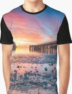 Beautiful Beach Image Graphic T-Shirt