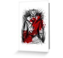 Blood Hunt Greeting Card