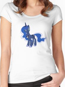 THIS IS PRINCESS LUNA Women's Fitted Scoop T-Shirt
