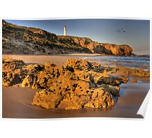 Split Point - Aireys Inlet Poster