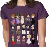 Kokeshis Women in the History Womens Fitted T-Shirt