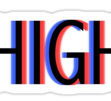 ARE YOU HIGH BRO ? Sticker