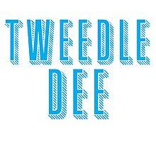 Tweedle DEE (with matching Tweedle DUMB) Photographic Print