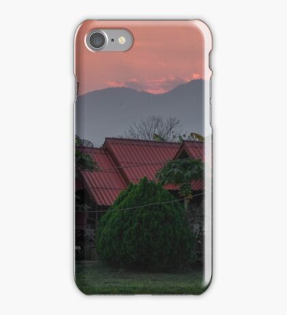 Sunset Over Pai iPhone Case/Skin