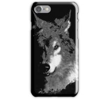 WolfInBlack iPhone Case/Skin